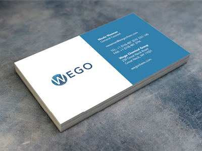 Wego Chemical Branding Drafts