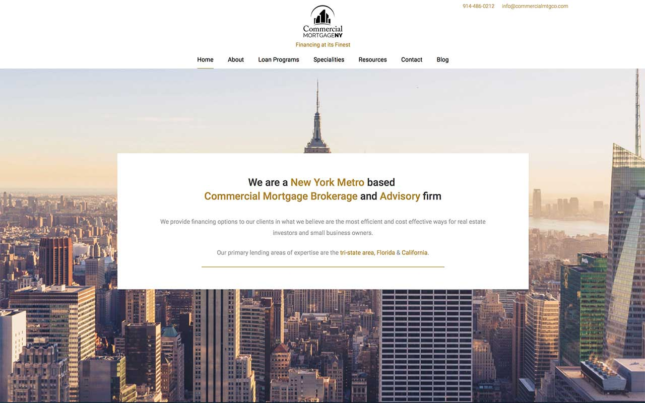 Commercial Mortgage New York